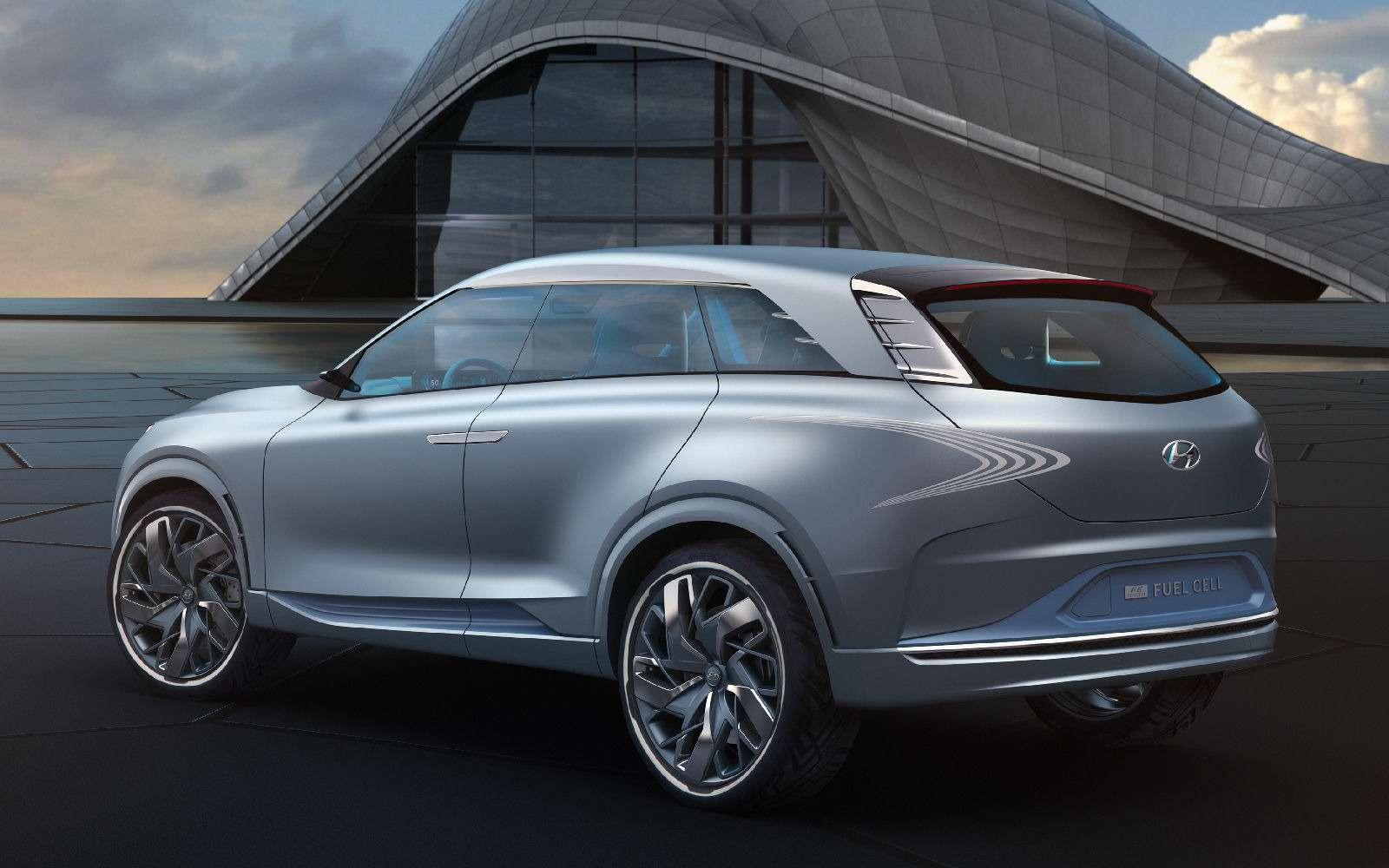 Олимпийский резерв: Hyundai FEFuel Cell станет серийным в2018 году— фото 717602