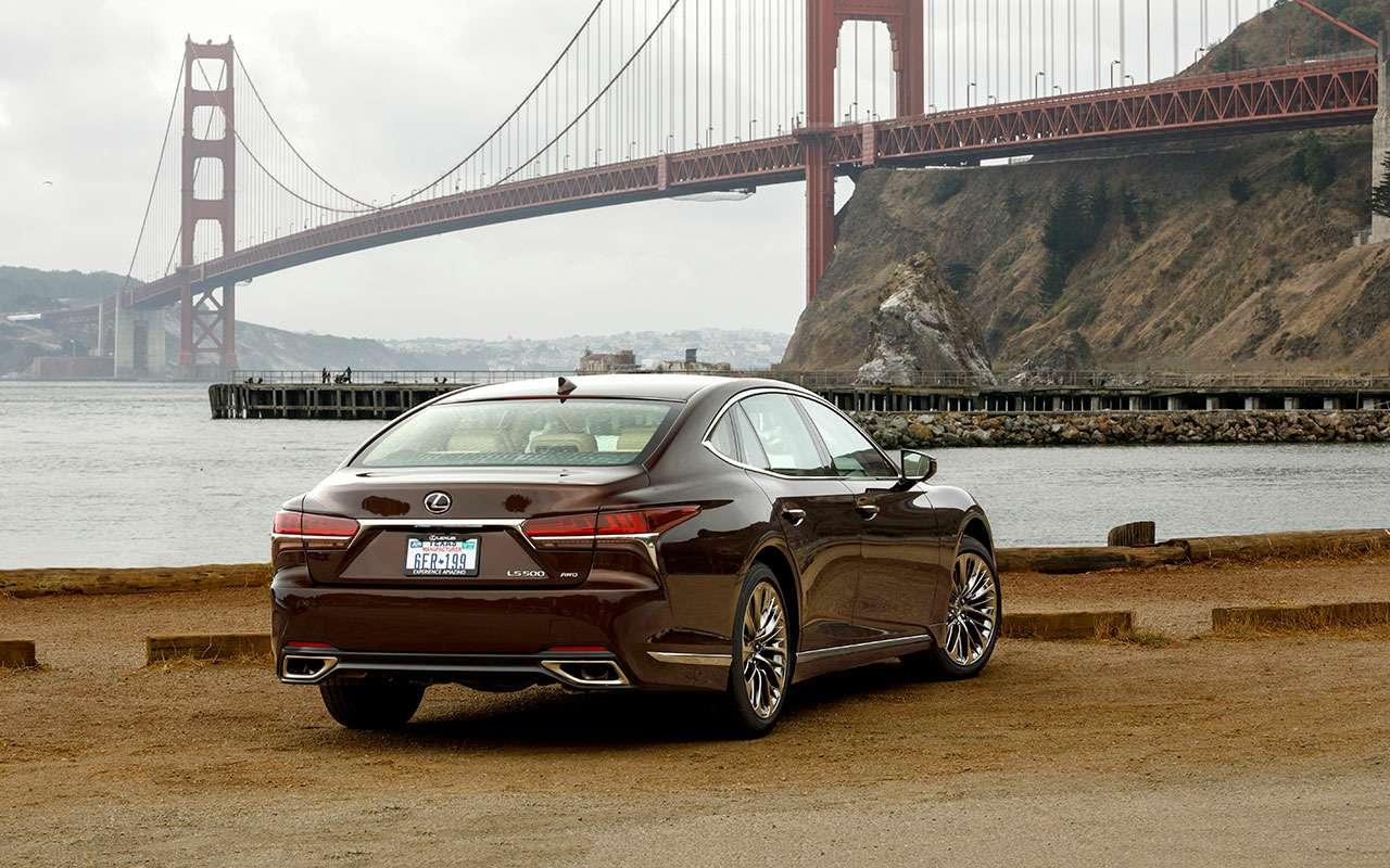 Новый Lexus LS— первый тест-драйв— фото 799447