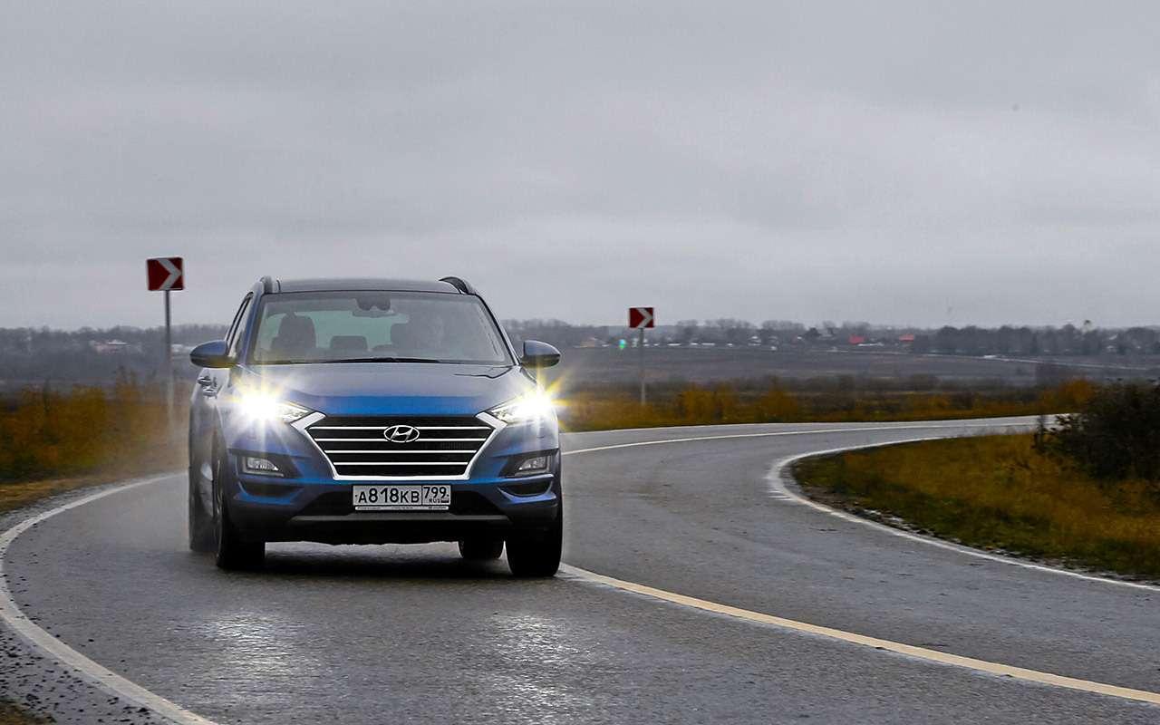 Новый Subaru Forester против конкурентов: большой тест кроссоверов— фото 935685