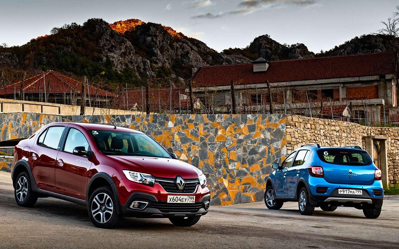 Какбы кроссоверы: тест Renault Logan Stepway иSandero Stepway— фото 942649