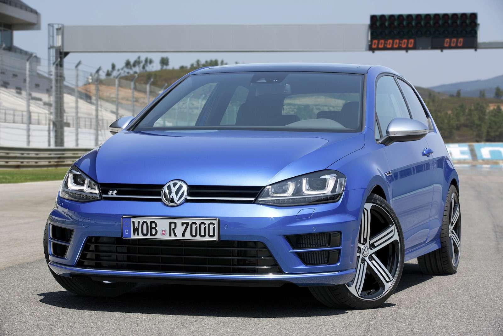 Derneue Volkswagen Golf R