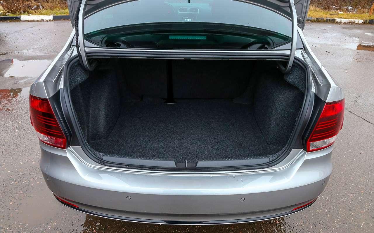 Новый VWPolo лифтбек: все отличия отседана— фото 1143659