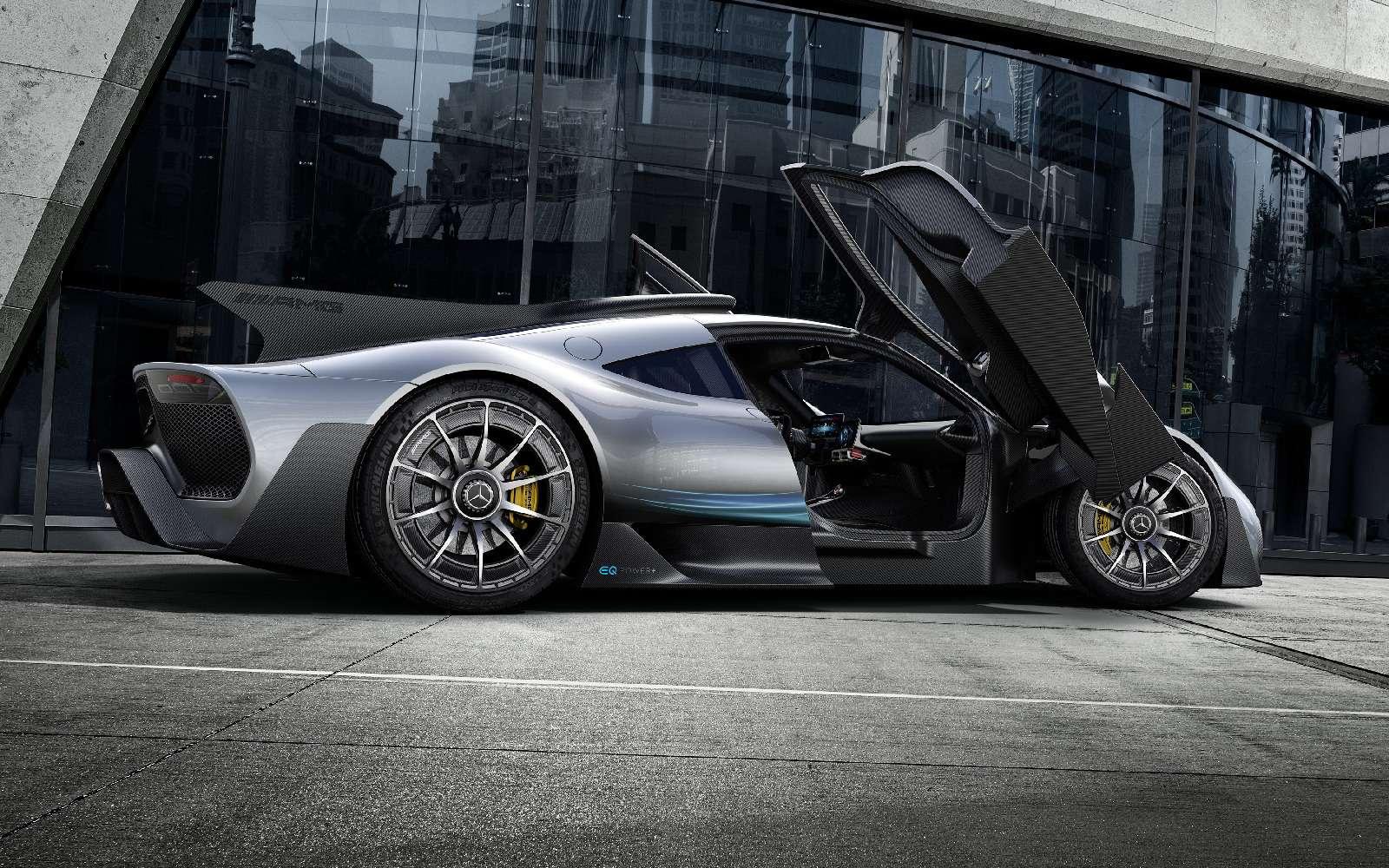 Mercedes-AMG Project One: 1000-сильный гиперкар с1,6-литровым мотором— фото 793633
