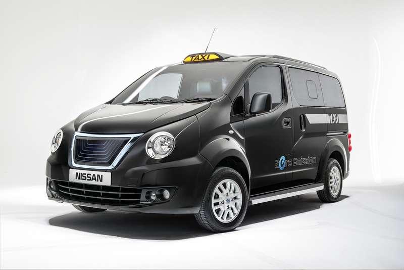 Nissan пытается выйти нарынок перевозок такси вЛондоне