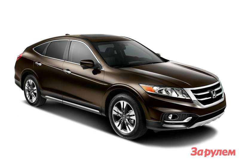 2013MY Honda Crosstour side-front view
