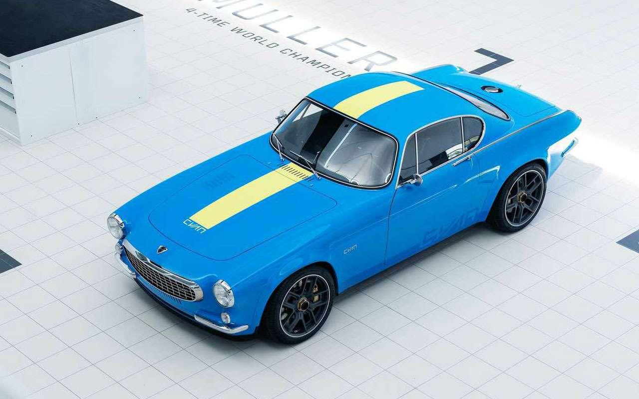 Volvo отказалась отвсей электроники (нонаодном купе)— фото 1164485