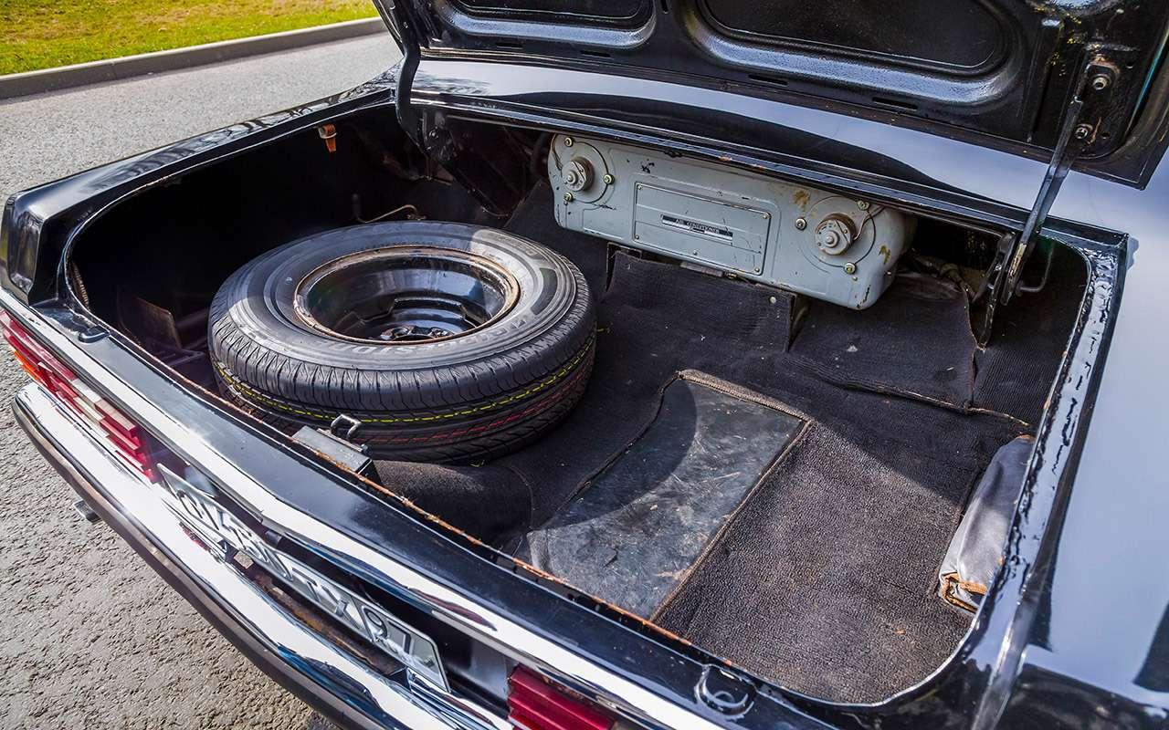 Тест машины, которую никогда непродавали: Чайка ГАЗ‑14— фото 998651