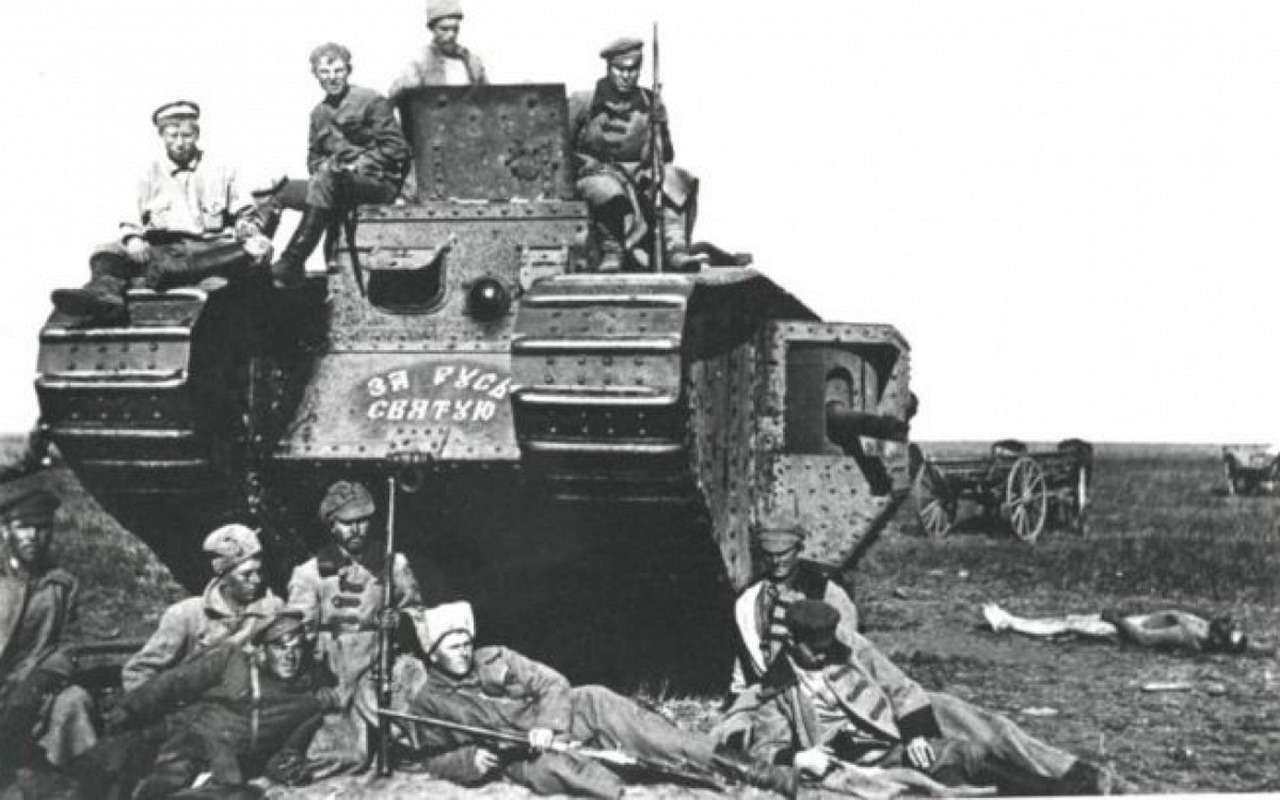 Ромбовидные «самцы» и«самки»: как вымерли самые нелепые танки— фото 998476