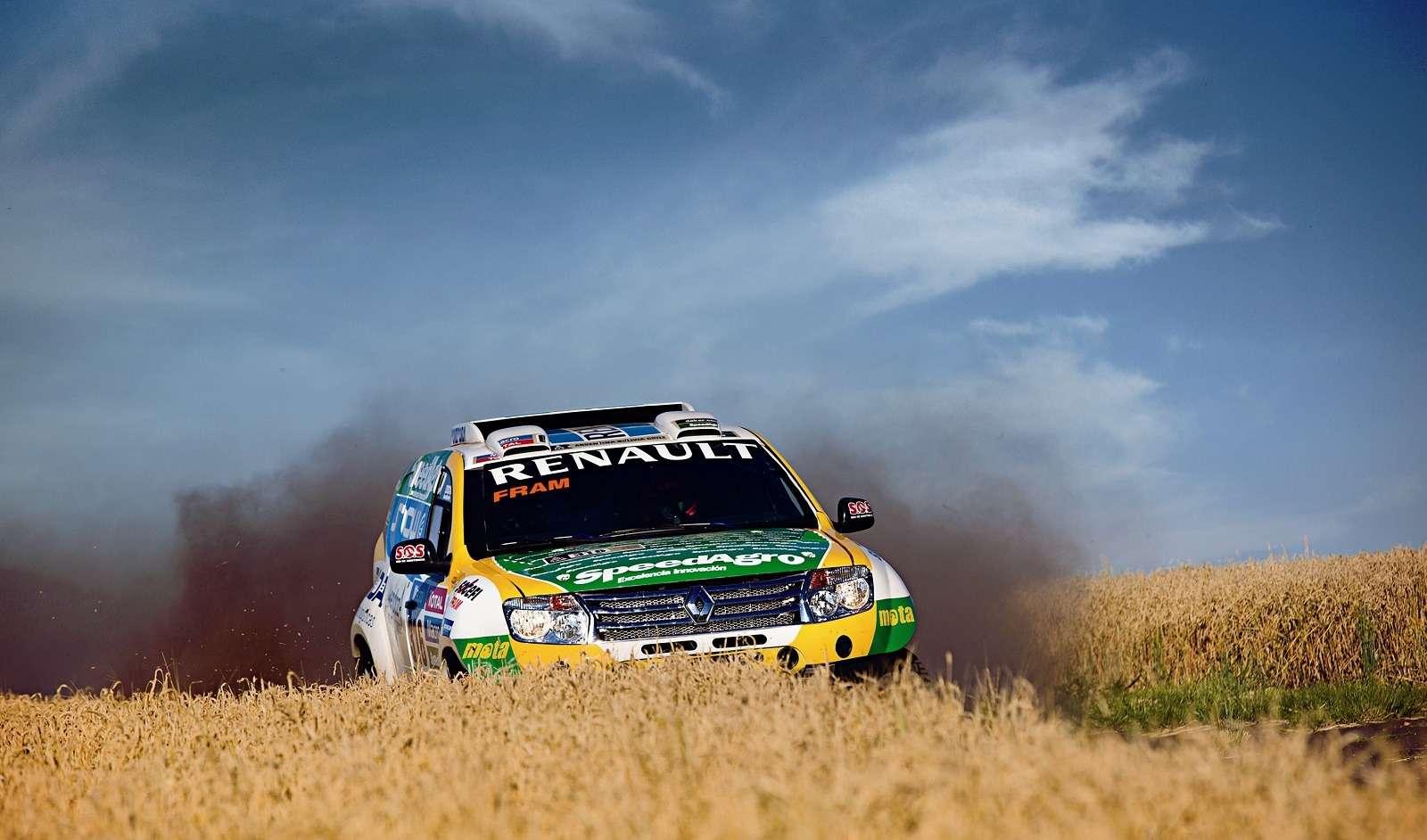 Команда Renault Duster планирует войти впервую десятку наралли «Дакар»— фото 364744