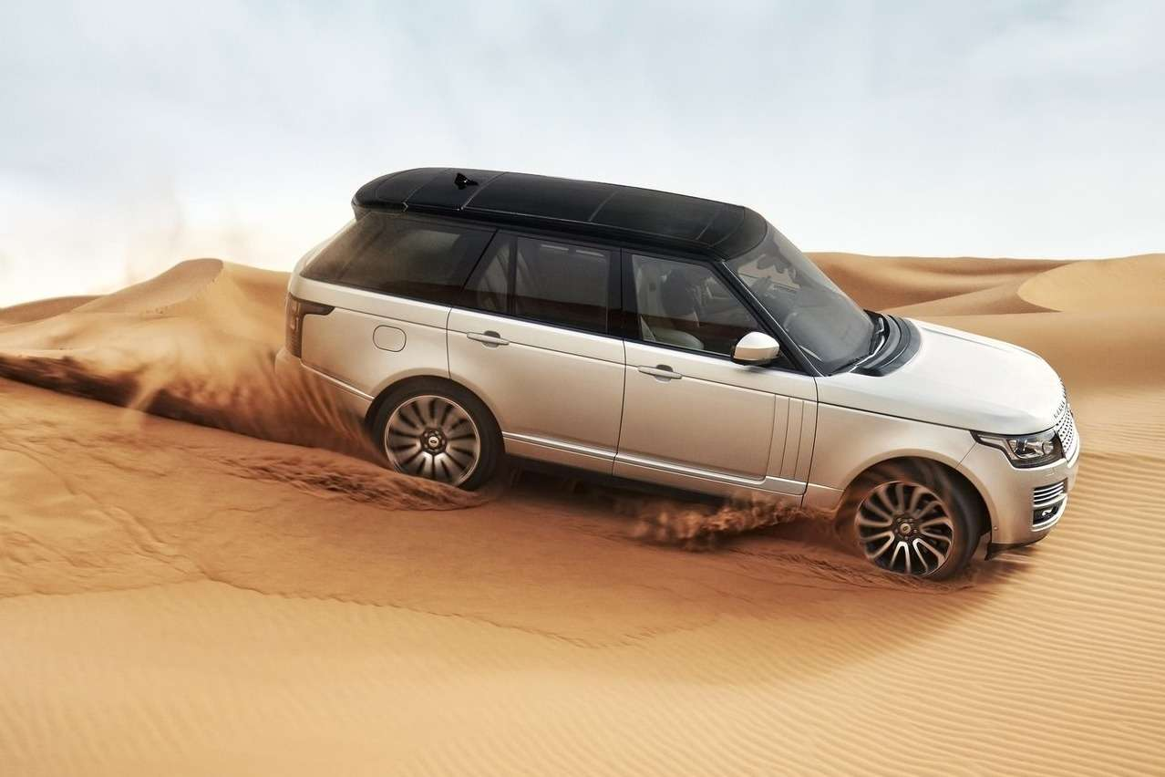 Land Rover Range Rover side view_no_copyright