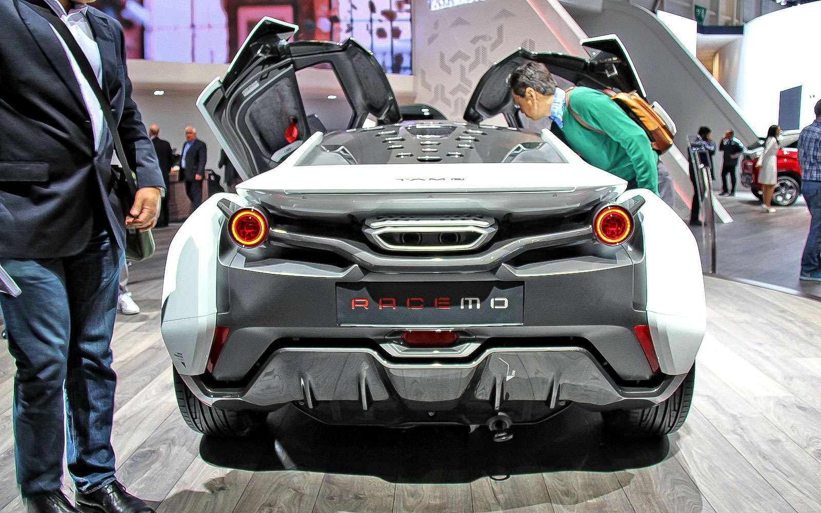 Tamo Racemo: индийский спорткар ситальянским дизайном иконцепцией Лотуса— фото 718983