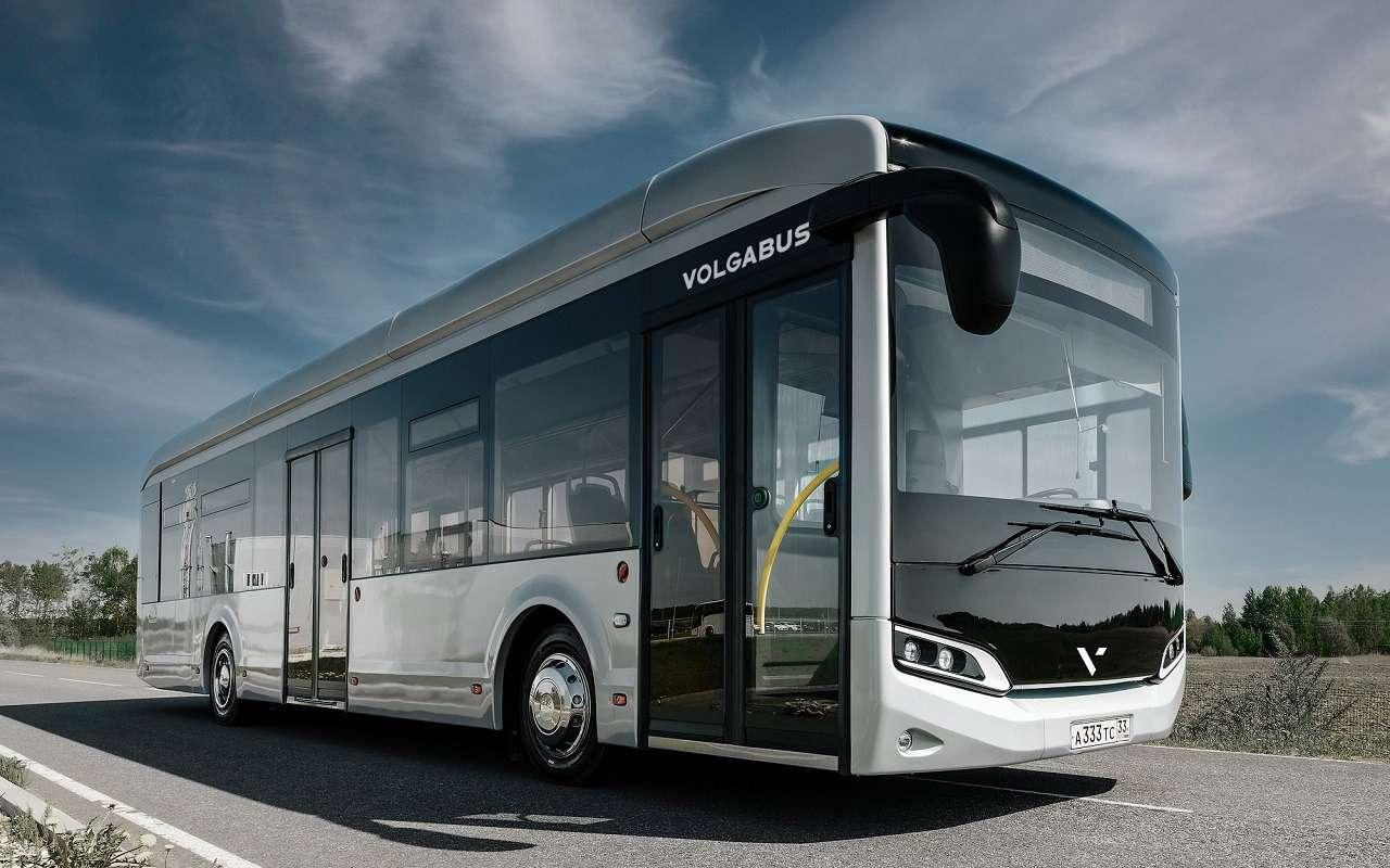 Суперсовременный городской автобус Volgabus— первые фото— фото 1254224