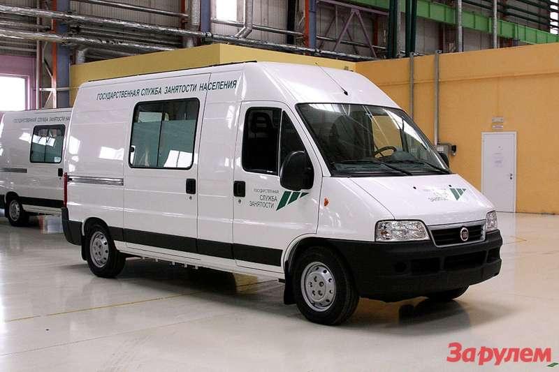 Fiat Ducato Mobile Office