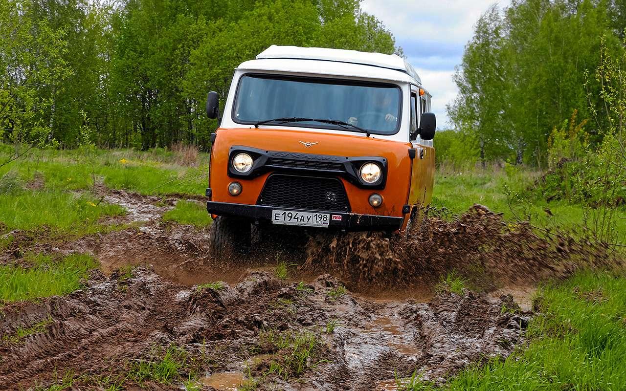 Самый дорогой УАЗ (за2миллиона)— большой тест— фото 1149783