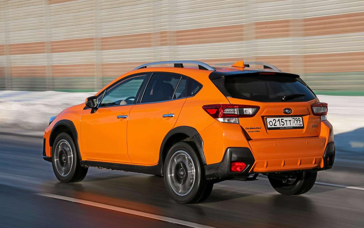 Mazda CX‑30, Skoda Karoq, Subaru XV: большой тест кроссоверов— фото 1238727