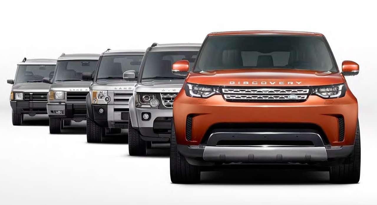 Диско уже не будет прежним: объявлены цены нового Land Rover Discovery— фото 676035