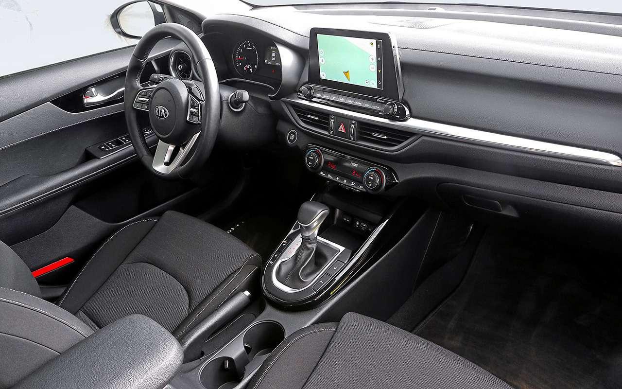 VWJetta, Kia Cerato, Mazda 3— тест-сравнение— фото 1156428