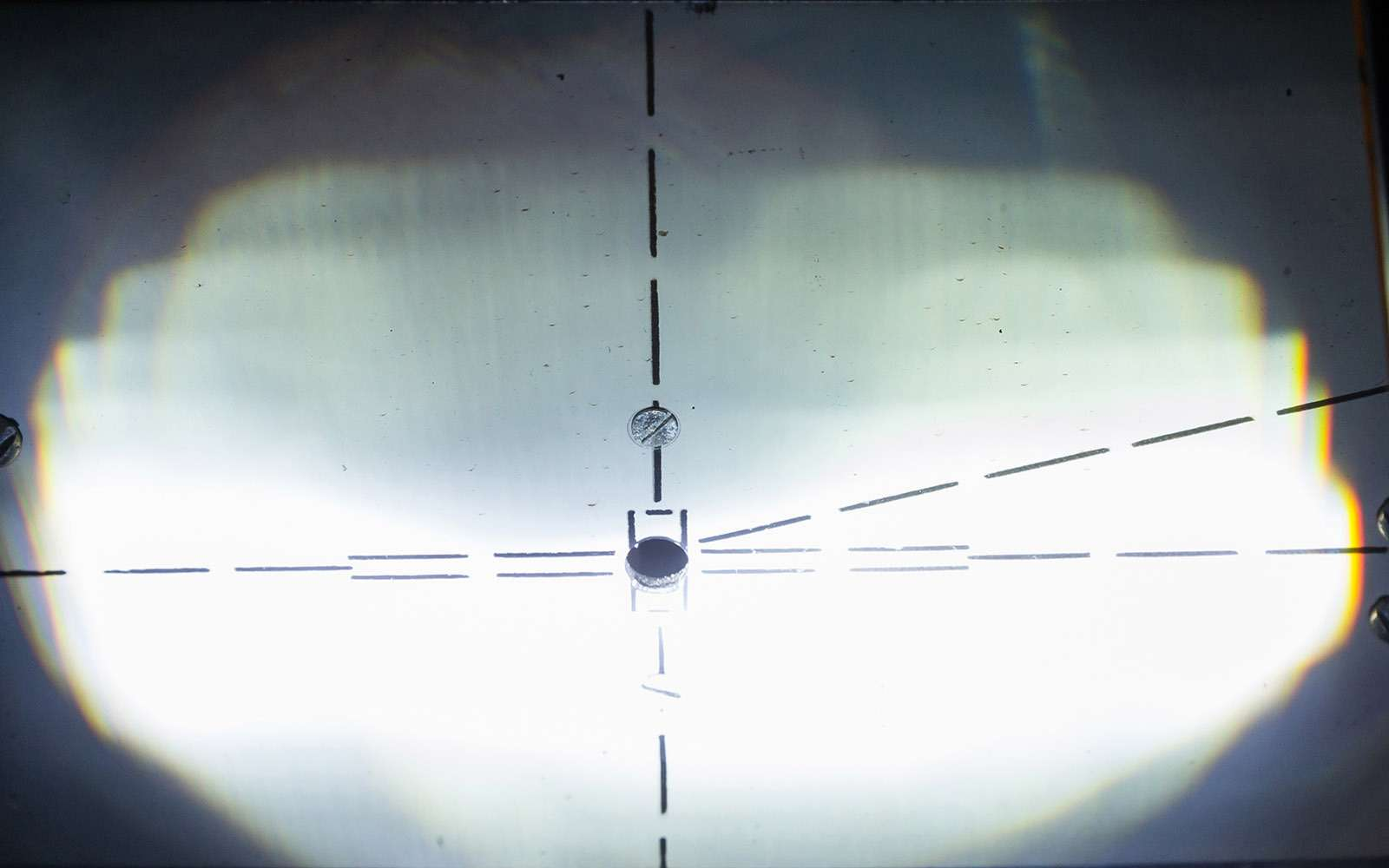 Светодиоды вместо галогенок вштатных фарах: полный провал!— фото 754730