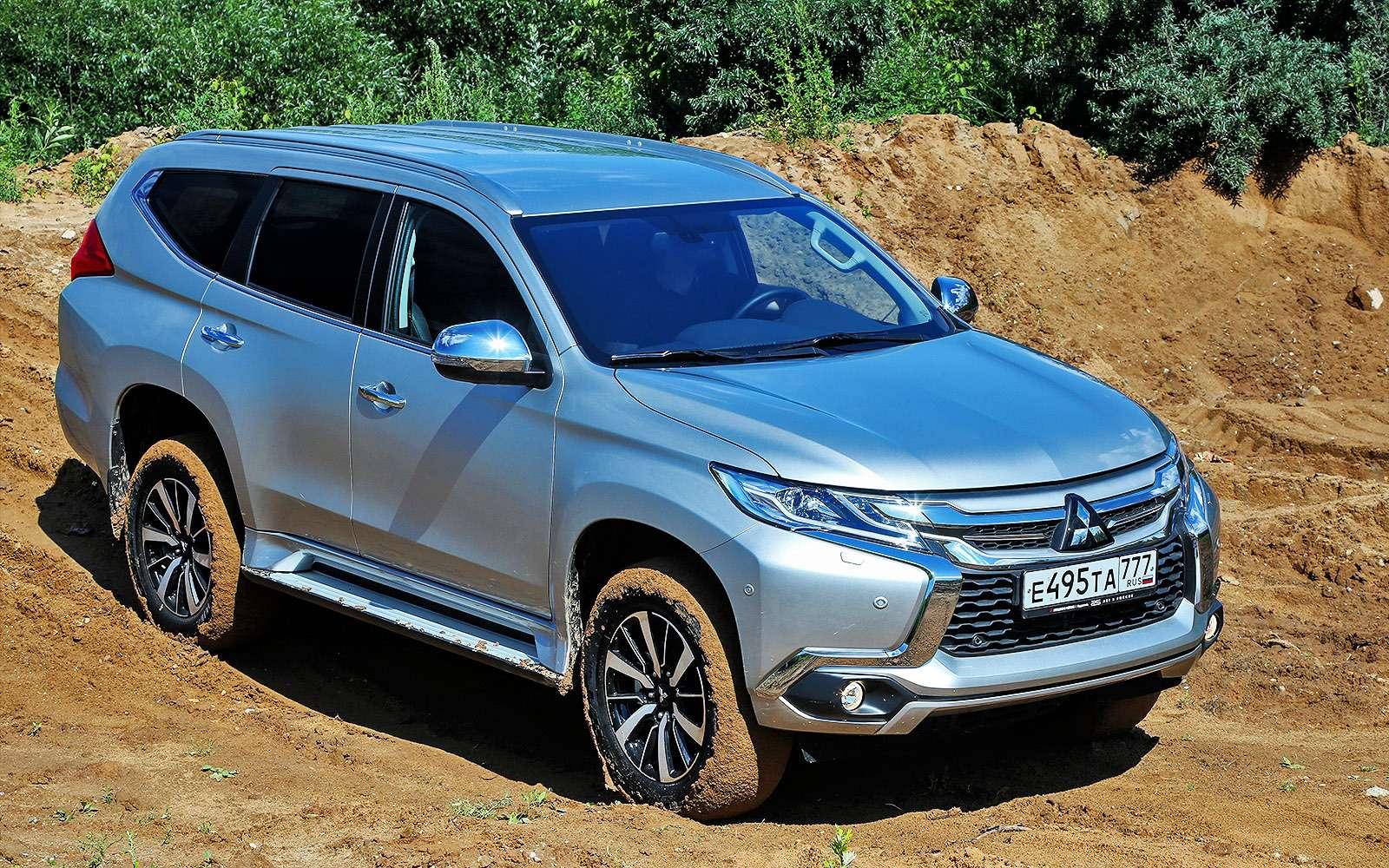 Новый Mitsubishi Pajero Sport: первый тест ипервая грязь!— фото 607606