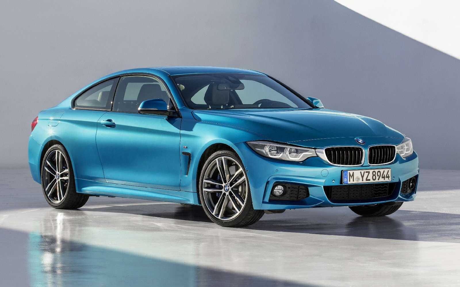 Светодиоды ижесткость: BMW обновила семейство 4-й серии— фото 694057