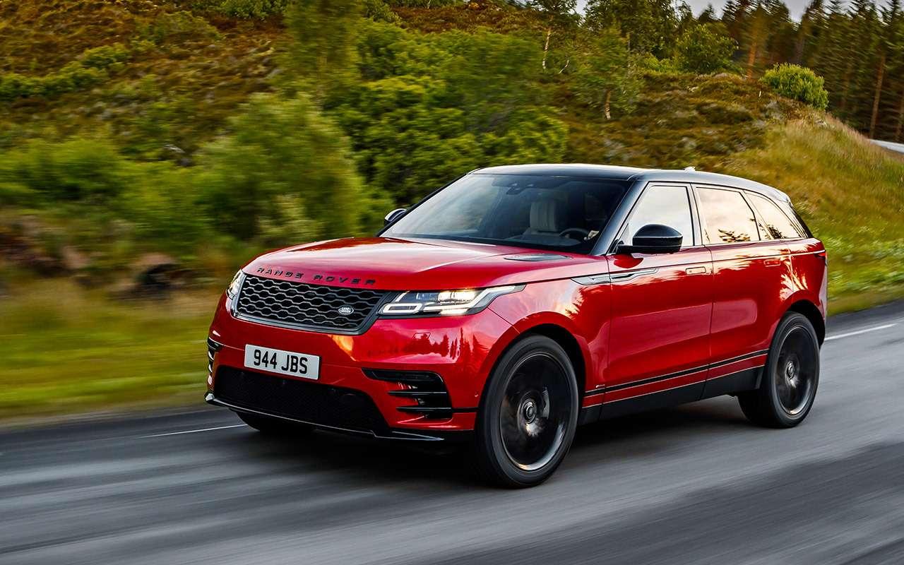 Range Rover Velar— первый тест-драйв— фото 792260