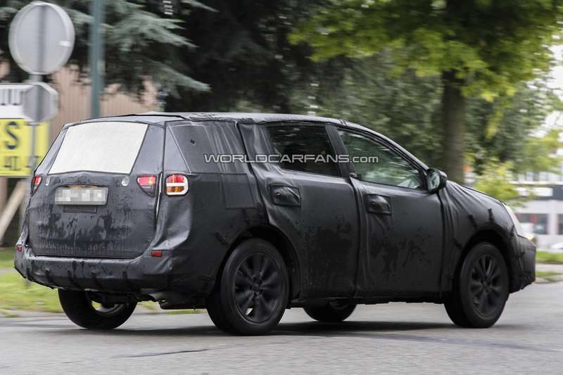 Next Toyota RAV4 side-rear view