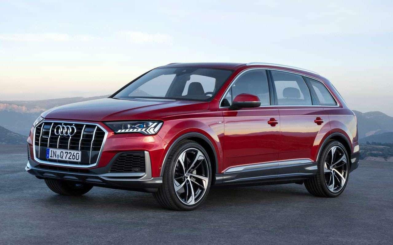 Обновленный Audi Q7— мягкие гибриды исвязь сосветофорами— фото 982624