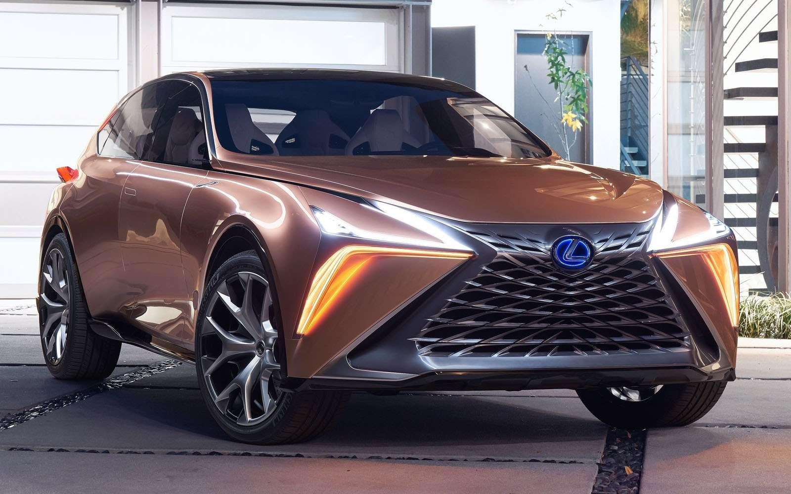 Lexus показал свой будущий флагманский кроссовер— фото 836187