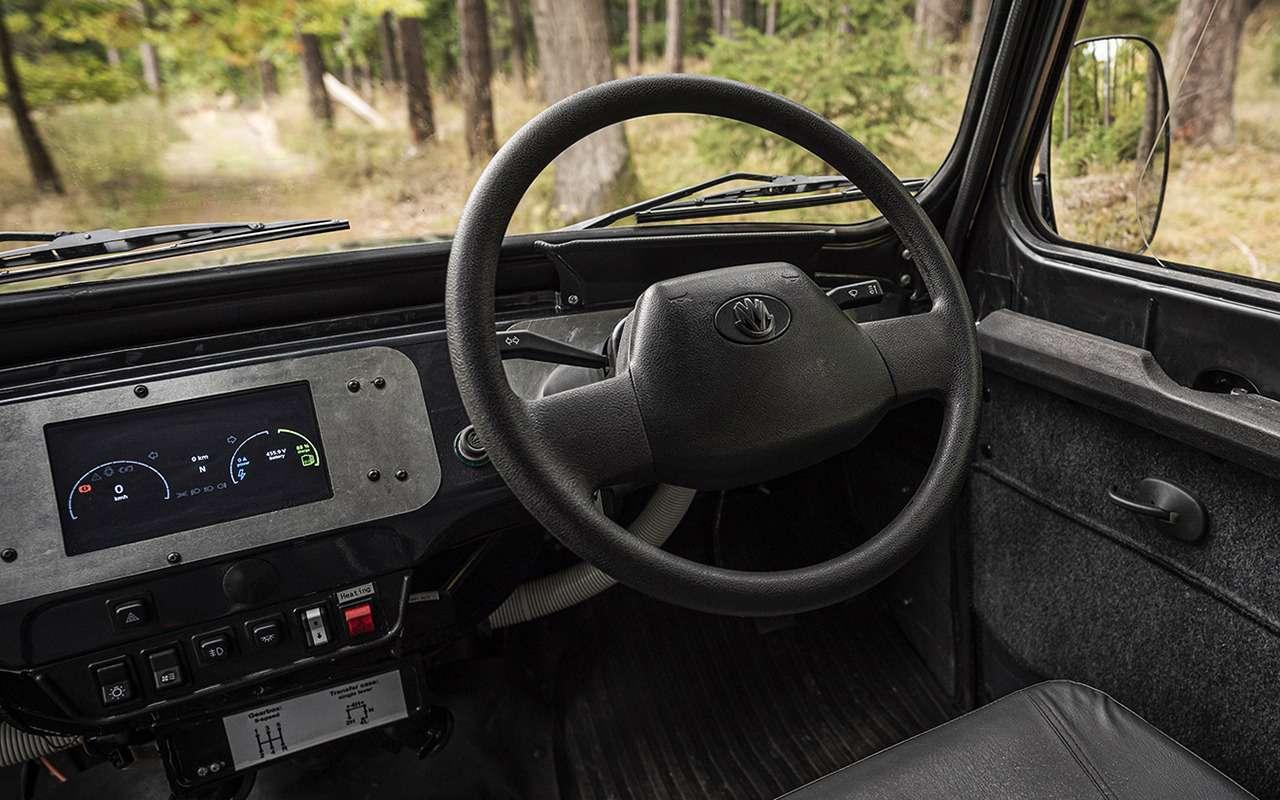 В Европе стартовали продажи электрического UAZ Hunter— фото 1267376