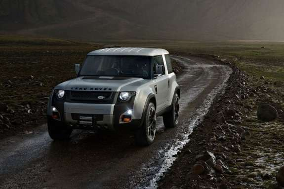 Land Rover DC100 Concept side-front view