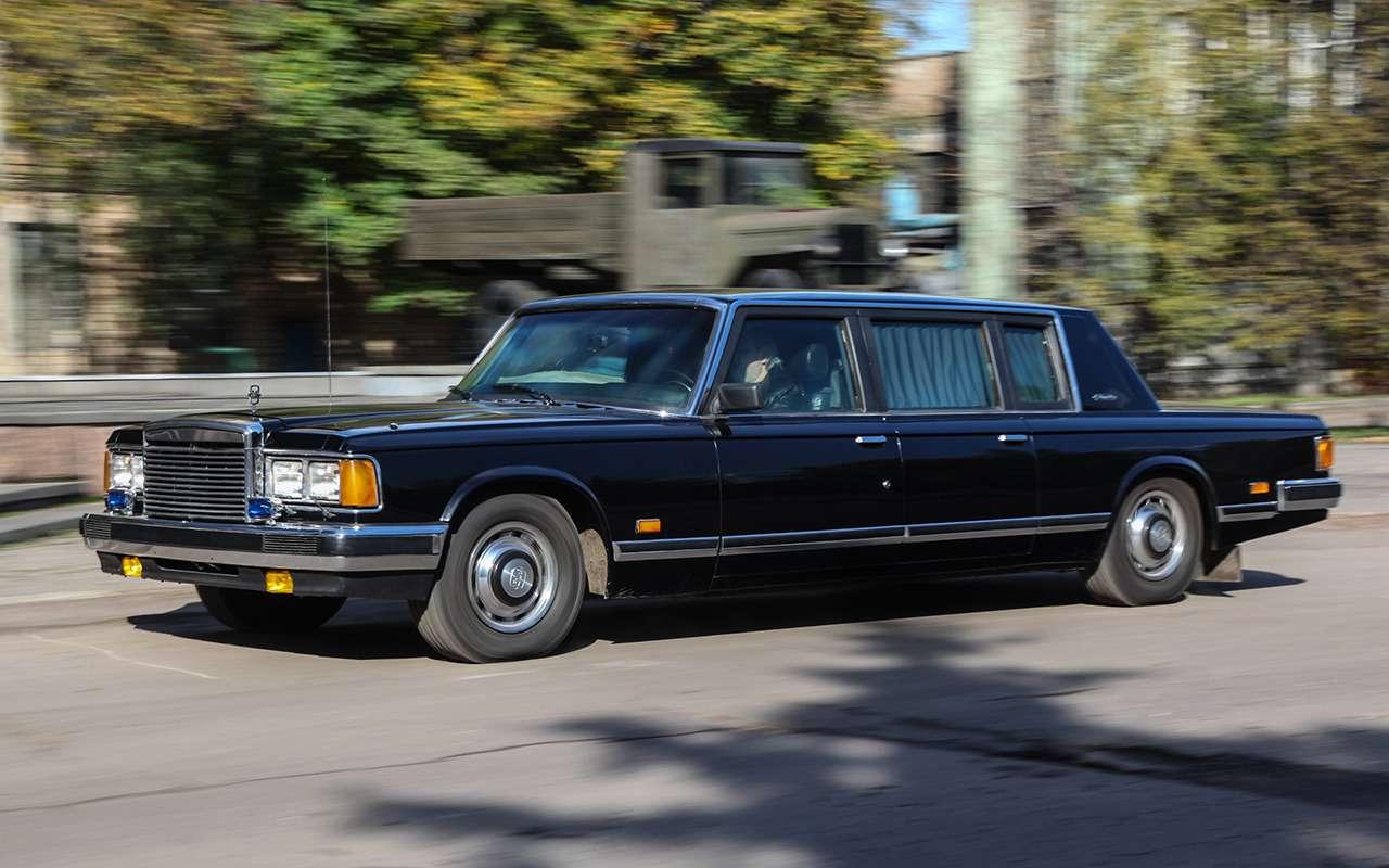 Бронированный лимузин Горбачева иЕльцина— как его строили— фото 1144863