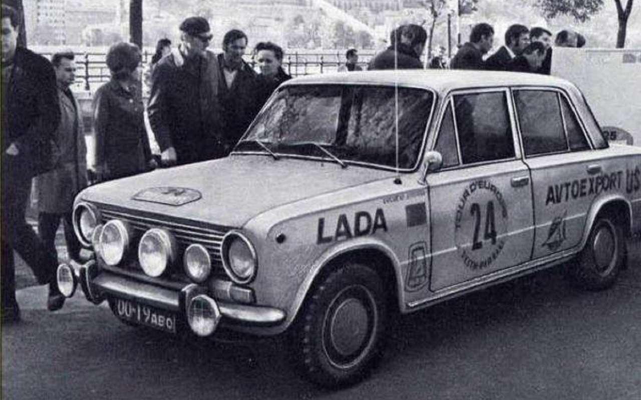 НаАВТОВАЗе сделали копию раллийной ВАЗ-2101 1971 года— фото 1117556
