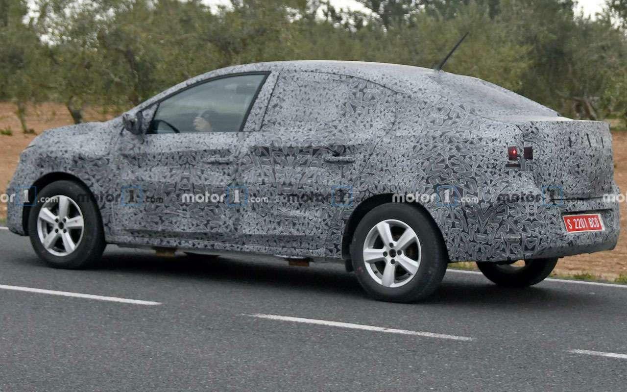 Новый Renault Logan— первые фото стестов— фото 1082939