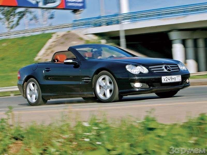 Тест Mercedes-Benz SL500. ЧТО МОГУТ КОРОЛИ— фото 68932