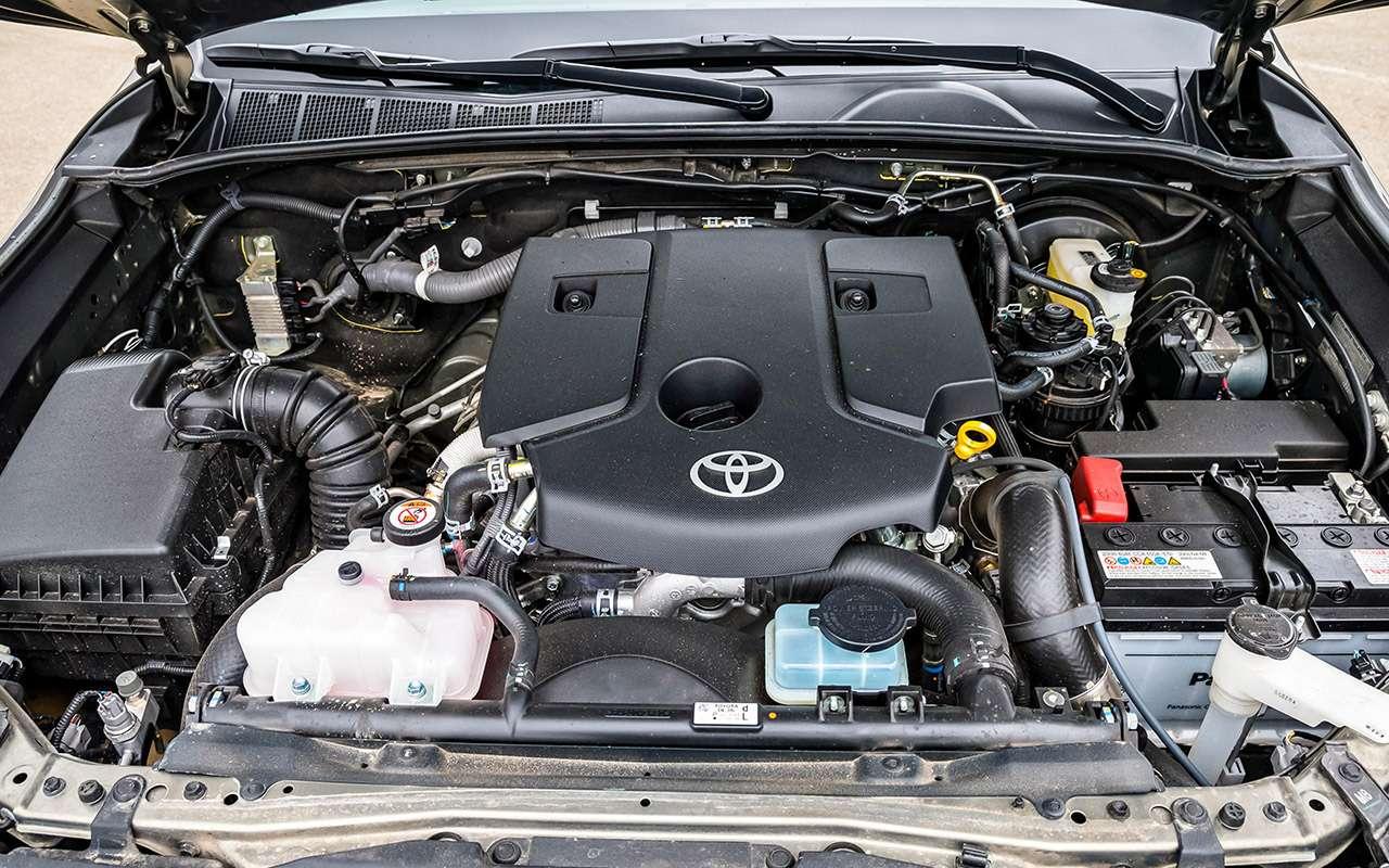 Пикап Toyota Hilux: все обновления— фото 1218979