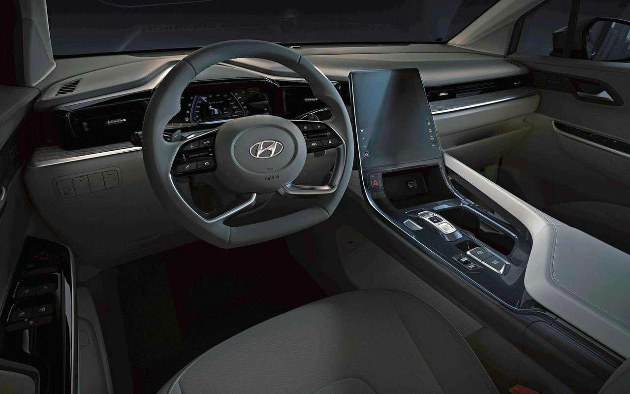 Новый Hyundai Custo— первые фото салона— фото 1266792