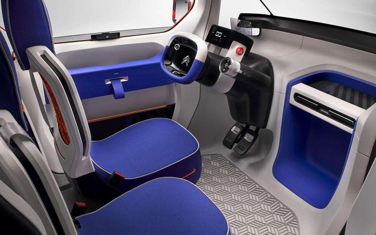 Кроха Citroen Ami One нетребует водительских прав— фото 950452