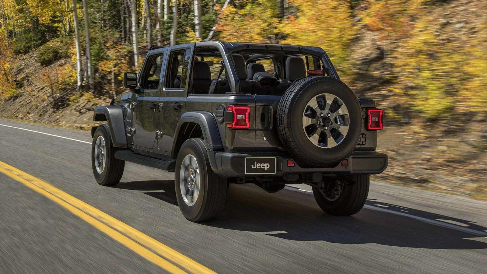 Новый Jeep Wrangler: найди десять отличий— фото 821239