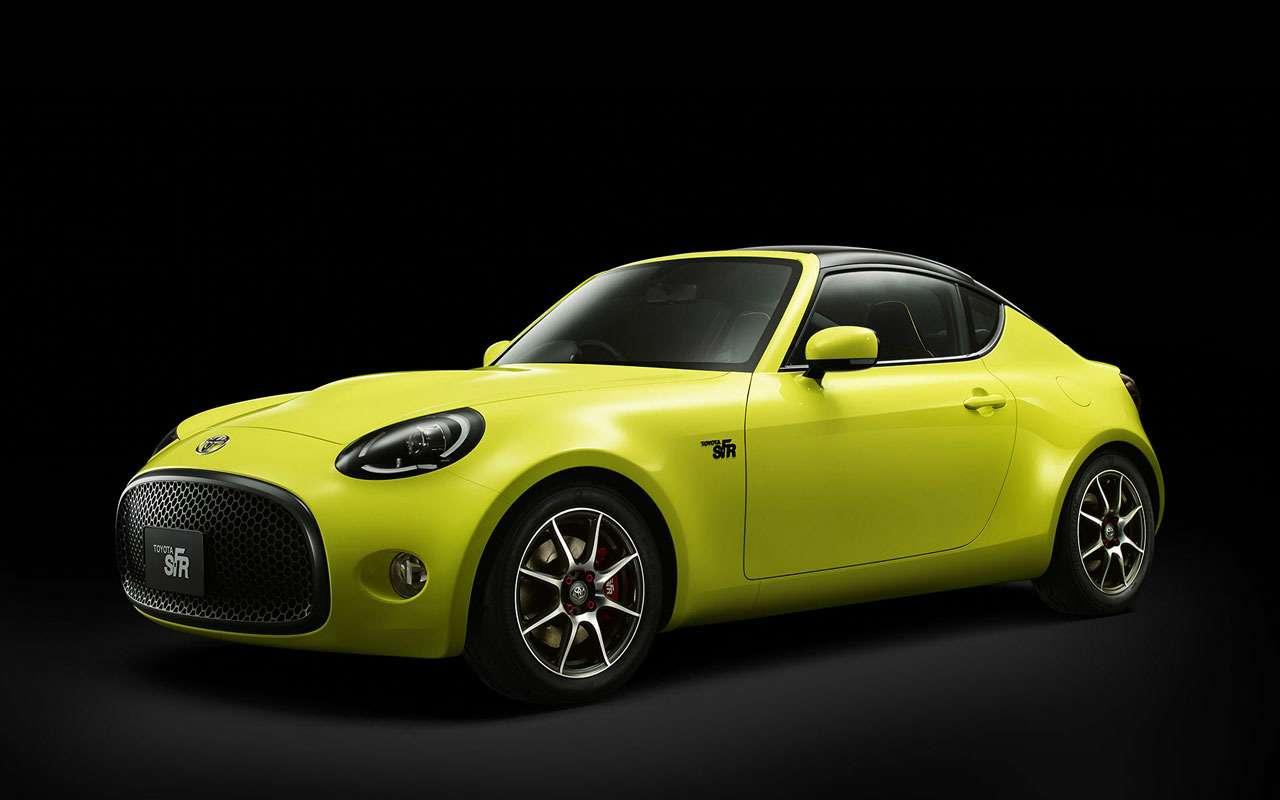 Toyota патентует новый спорткар— фото 965717