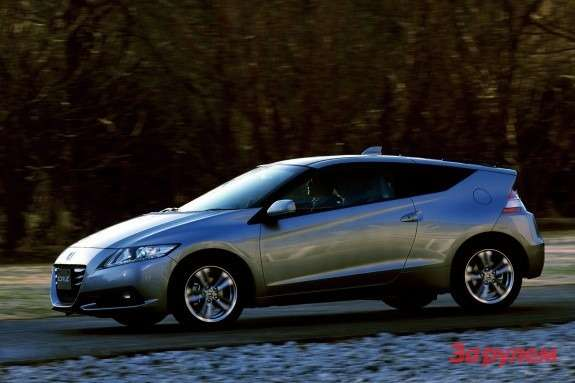 Honda CR-Z side-front view