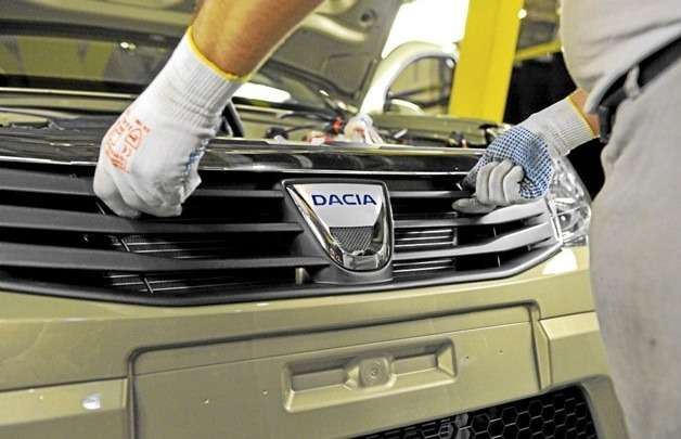 no copyright dacia logo