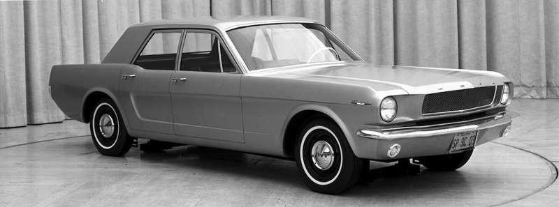 1965 four door Mustang