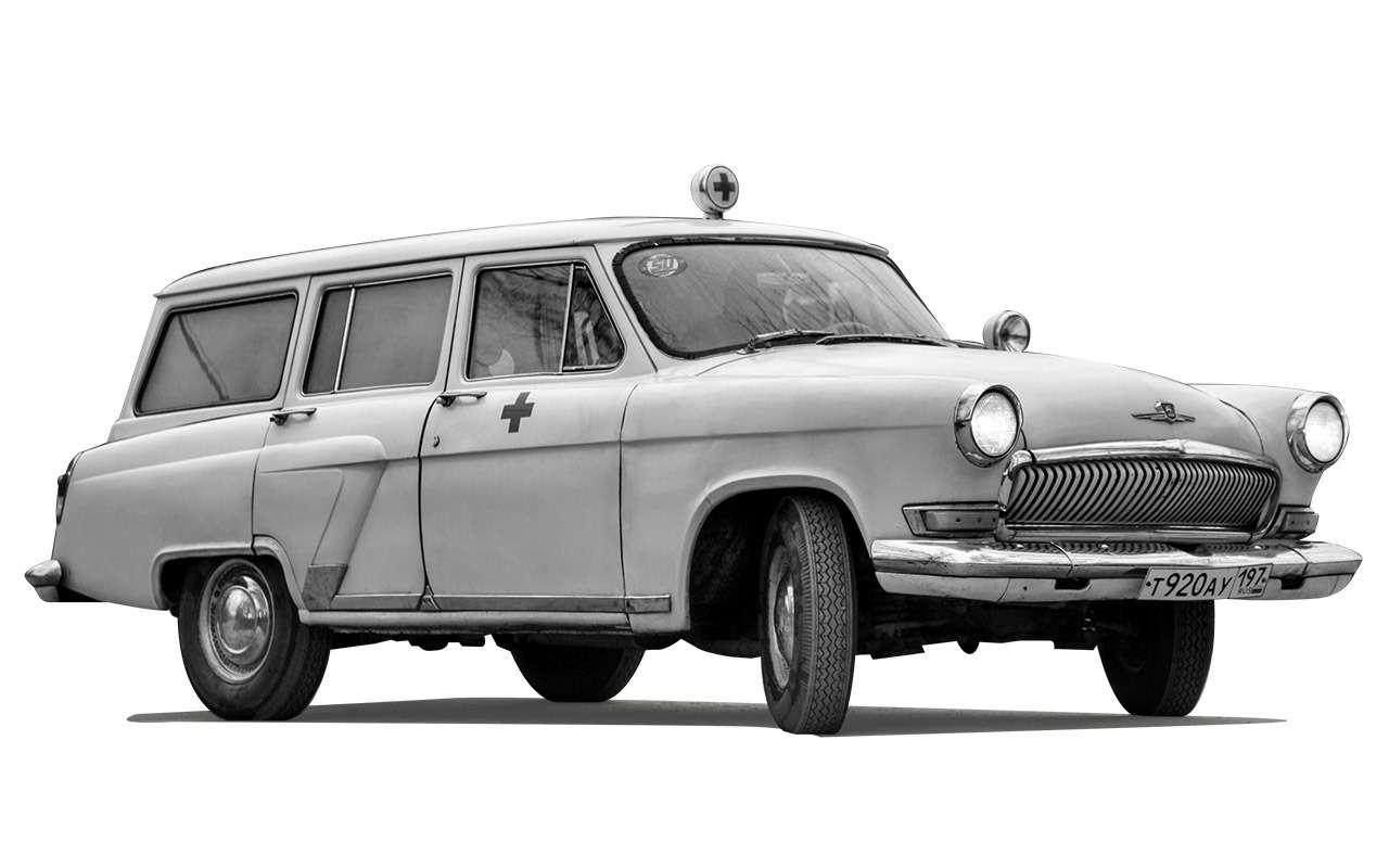 Уникальная Победа ГАЗ-М20: ретротест машины cкорой помощи— фото 1085337