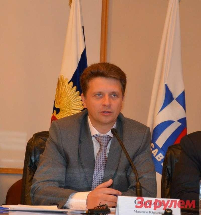 Министр транспорта РФМаксим Соколов