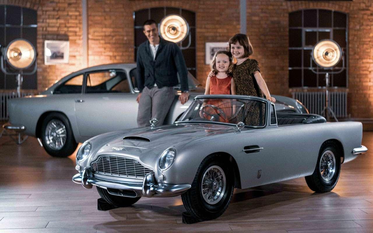 Aston Martin выпустил игрушку длядетей. Дороже Мерседеса— фото 1163692