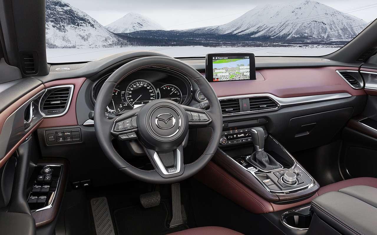 Mazda CX-9 2019: все небольшие изменения— фото 960328