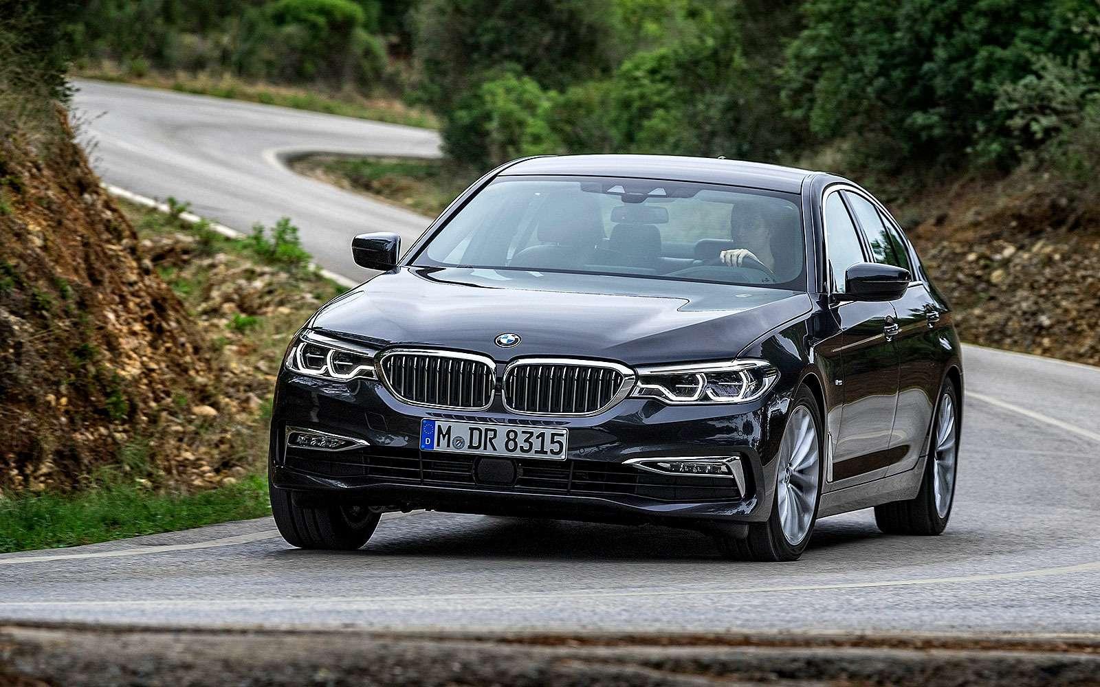 BMW5серии G30, 2017