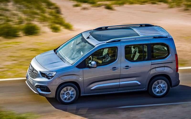 Opel Combo Life — новый фургон PSA-Opel — журнал За рулем a6879dc710948