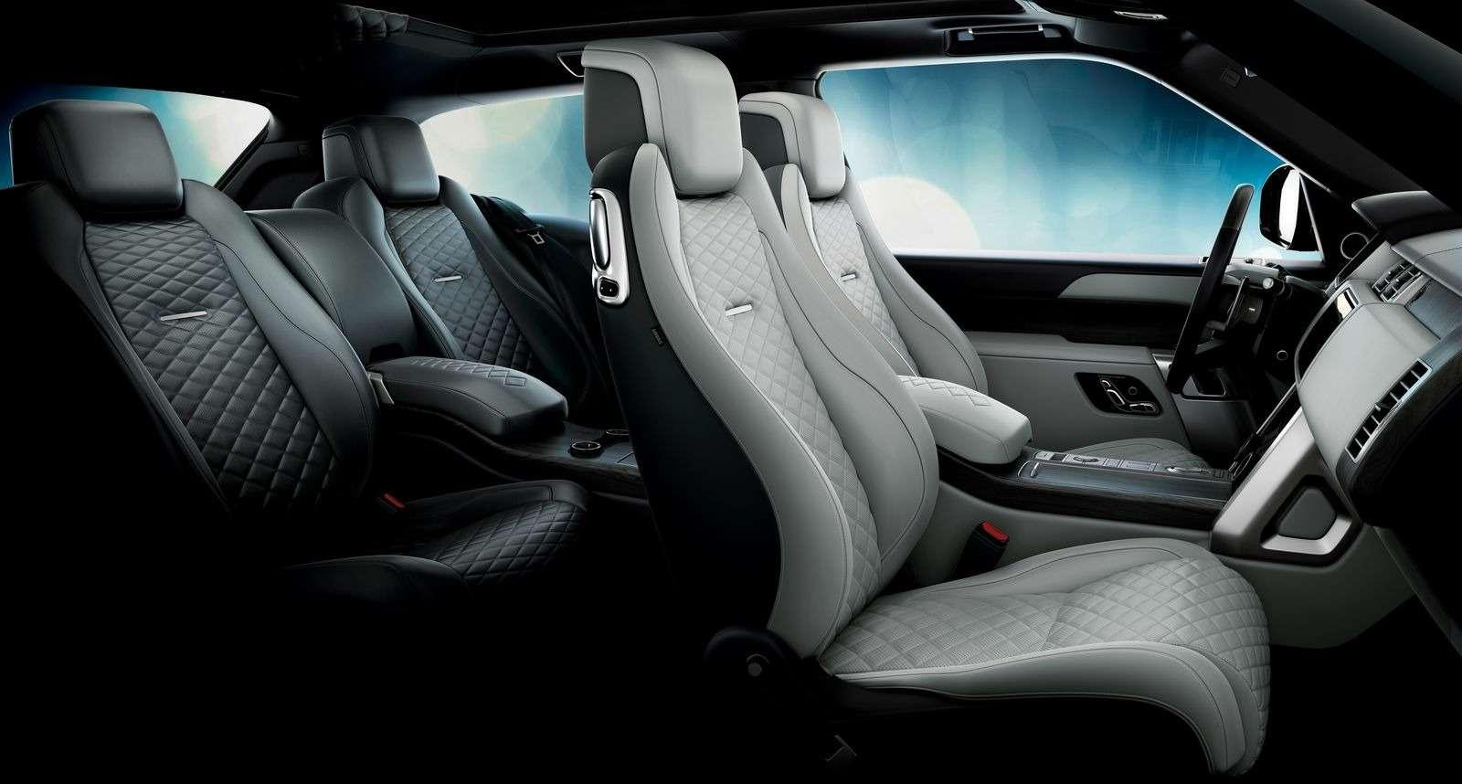 Range Rover SVCoupe: трехдверный, нонеукороченный!— фото 851202