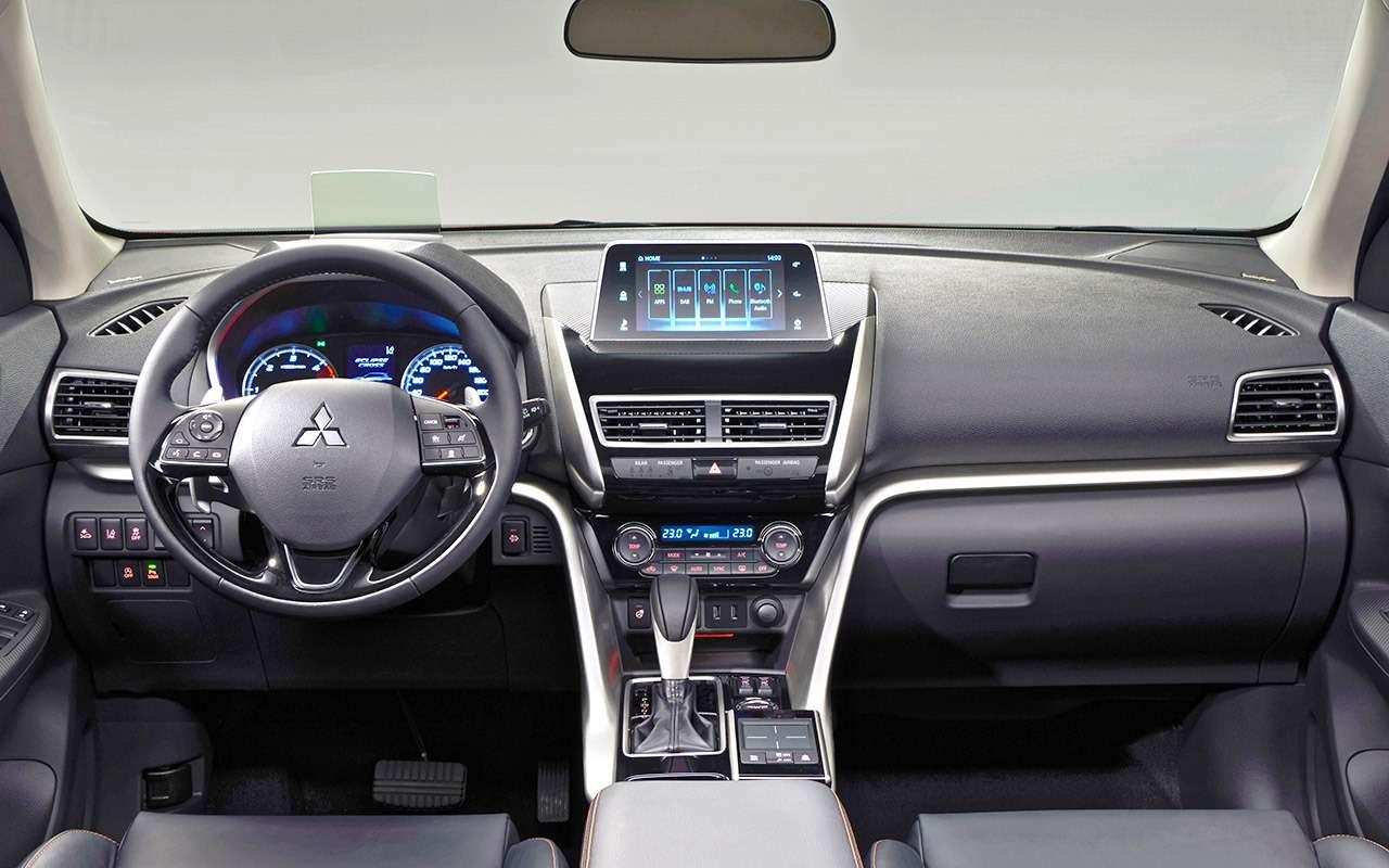 Новый кроссовер Mitsubishi Eclipse Cross— тест-драйв— фото 821397